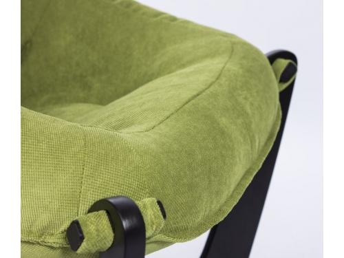 Кресло мягкое Мебель Импэкс Модель 11 каркас венге, обивка Verona Apple green, вид 3