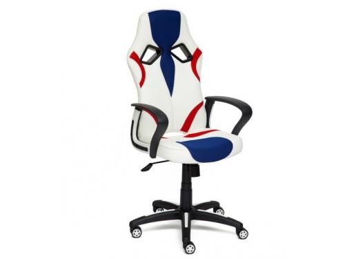 Компьютерное кресло Tetchair  RUNNER 36-01/tw-10/tw-08, белый/синий/красный, вид 1