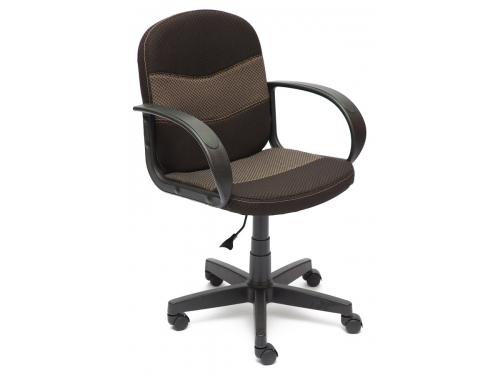 Кресло офисное TetChair BAGGI, коричнево-бежевый, вид 2