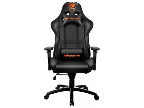 Игровое компьютерное кресло Cougar Armor, черное, вид 1