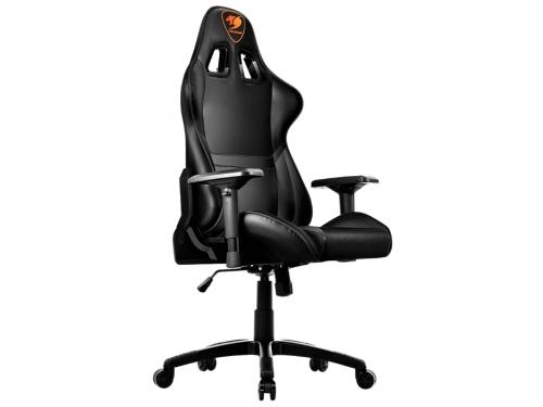 Игровое компьютерное кресло Cougar Armor, черное, вид 3