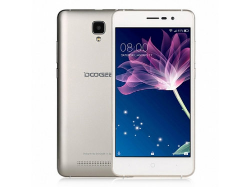 Смартфон Doogee X10 512Mb/8Gb, золотистый, вид 1