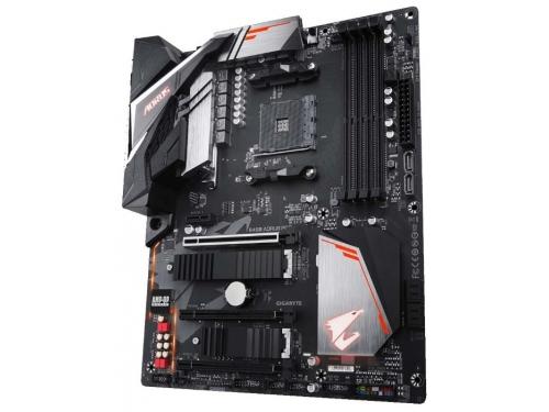 Материнская плата Gigabyte B450 Aorus Pro Soc-AM4, AMD, ATX, DDR4, SATA3, USB 3.0, вид 1