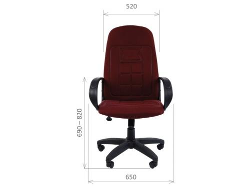 Кресло офисное Chairman 727, серое, вид 2