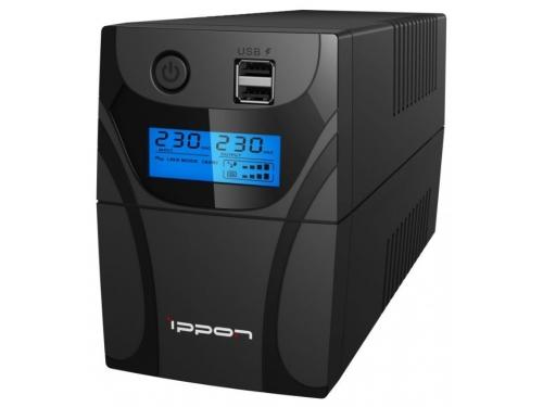 Источник бесперебойного питания Ippon Back Power Pro II Euro 650 ВА / 360 Вт, вид 2