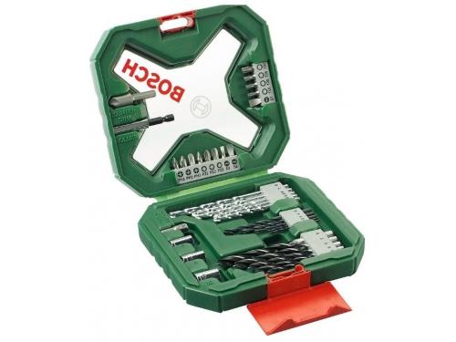 Набор сверл Bosch X-Line Classic, биты и свёрла + кейс, 34 предмета [2607010608], вид 2