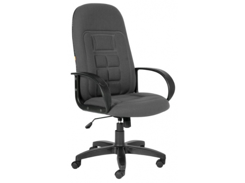 Кресло офисное Chairman 727, серое, вид 1
