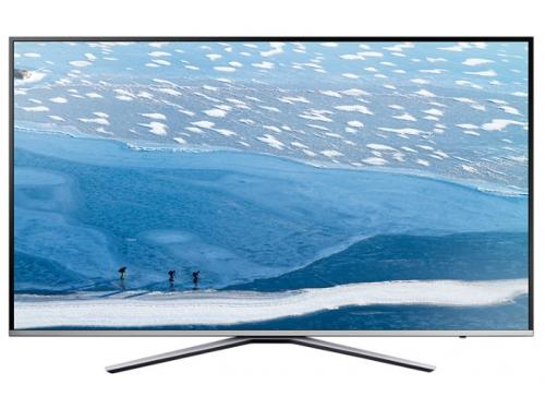 телевизор Samsung UE55KU6400U, серебристый, вид 2