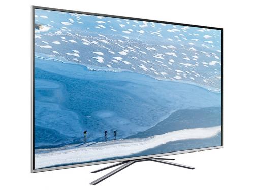 телевизор Samsung UE55KU6400U, серебристый, вид 4