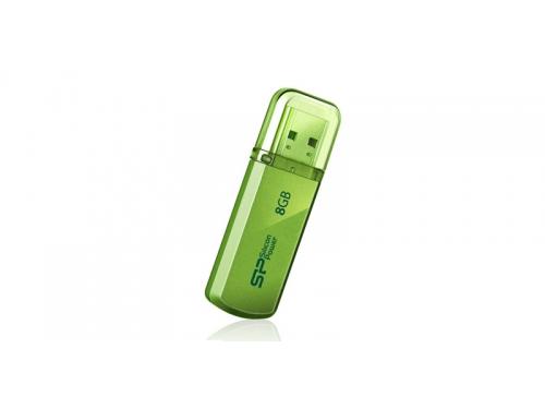 Usb-флешка Silicon Power Helios 101 8GB, зеленая, вид 1