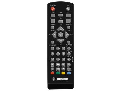 Ресивер Telefunken TF-DVBT201 DVB-T2, вид 2