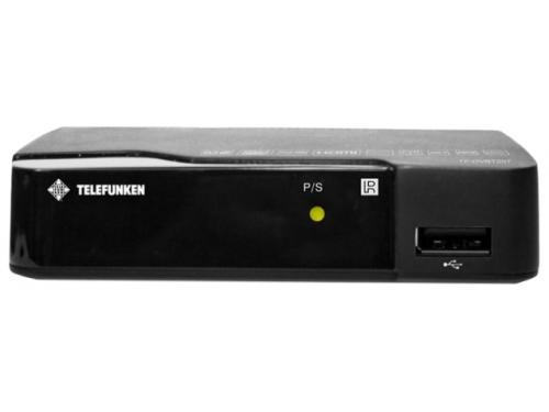 Ресивер Telefunken TF-DVBT207, черный, вид 1