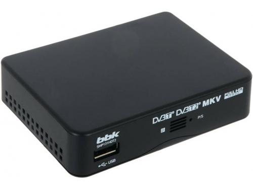 Ресивер BBK SMP131HDT2, черный, вид 2