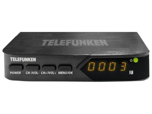 Ресивер Telefunken TF-DVBT210, черный, вид 1