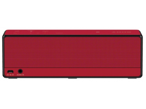 Портативная акустика Sony SRS-X33 красная, вид 2