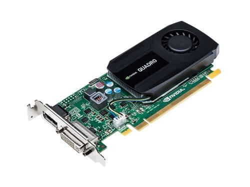 Видеокарта профессиональная PNY Quadro K420 PCI-E 2.0 2048Mb 128 bit DVI (VCQK420-2GBBLK-1), вид 2
