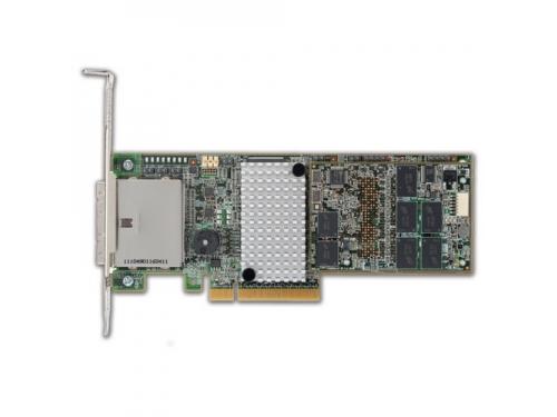 Контроллер Avago MegaRAID SAS 9285CV-8e0 (L5-25421-11), вид 1