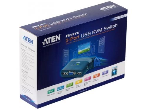 KVM-переключатель ATEN CS62U-A7 (на 2 ПК), вид 4