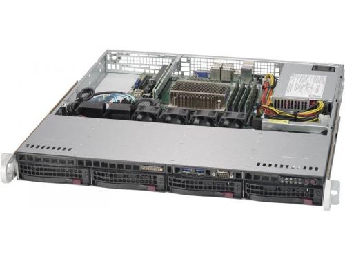 Серверная платформа SuperMicro 1U SYS-5019S-M, вид 1