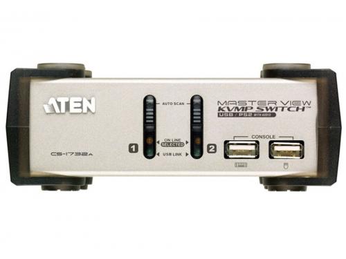 KVM-������������� ATEN CS1732AC-AT (�� 2 ��), ��� 1