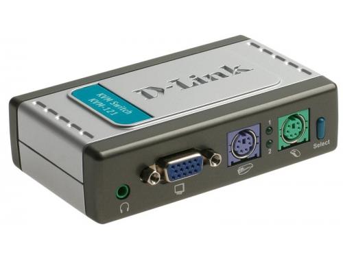 KVM-переключатель D-Link KVM-121 (на 2 ПК), вид 2