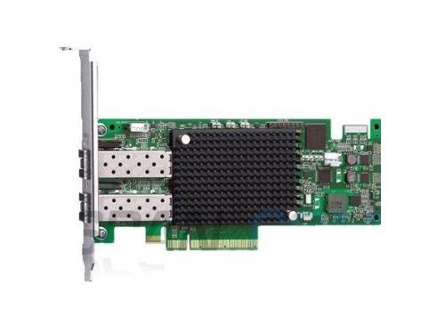 Контроллер LSI Logic LPe16002B-M6 (оптоволоконный, 2 порта), вид 1