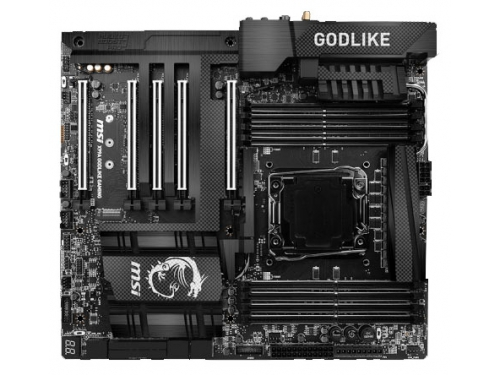 Материнская плата MSI X99A Godlike Gaming Carbon (EATX, LGA2011-3, Intel X99, 8xDDR4), вид 1