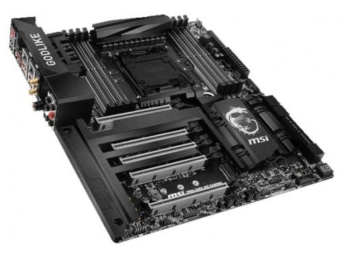 Материнская плата MSI X99A Godlike Gaming Carbon (EATX, LGA2011-3, Intel X99, 8xDDR4), вид 2