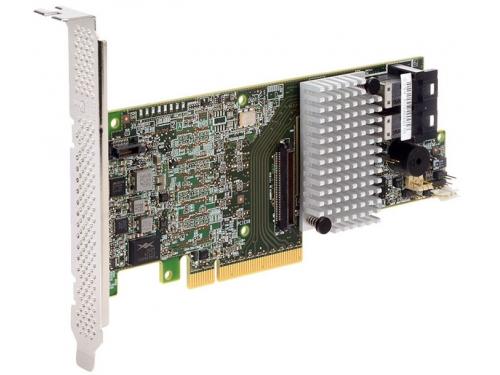 Контроллер Intel RS3DC080-934643 (PCI-E - 128 SAS/SATA, RAID 0-60, для сервера), вид 1