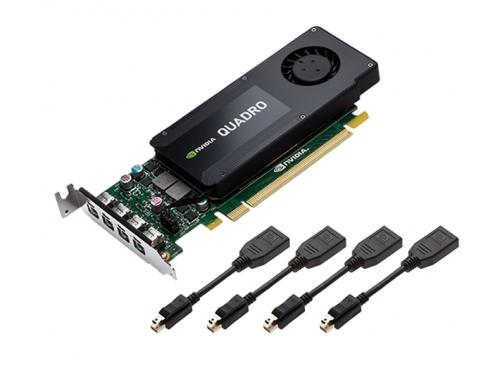 ���������� ���������������� PNY Quadro K1200 PCI-E 2.0 4096Mb 128 bit (VCQK1200DPBLK-1), oem, ��� 5