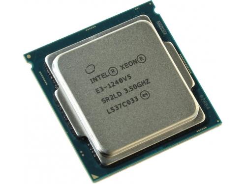Процессор Intel Xeon E3-1240 V5 Skylake-S (3500MHz, LGA1151, L3 8192Kb, Tray), вид 1
