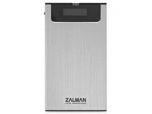Корпус для жесткого диска Zalman ZM-VE350 (microUSB 3.0, 2.5''), серебристый, вид 1