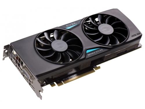 Видеокарта GeForce EVGA GeForce GTX 970 1190Mhz PCI-E 3.0 4096Mb 7010Mhz 256 bit DVI HDMI HDCP, вид 2