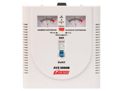 Стабилизатор напряжения PowerMan AVS 5000M, 5000VA, вид 1
