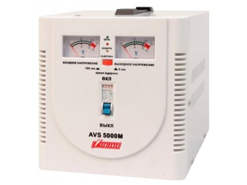Стабилизатор напряжения PowerMan AVS 5000M, 5000VA, вид 2