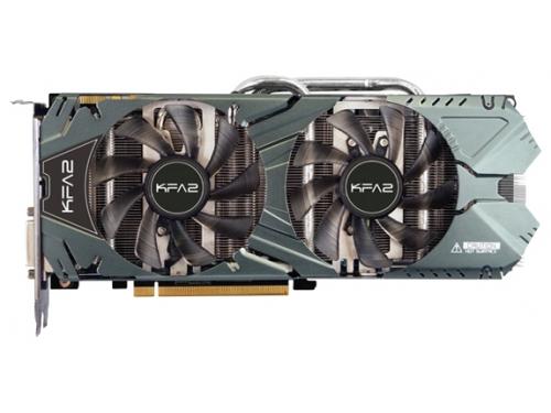 Видеокарта GeForce KFA2 GeForce GTX 970 1164Mhz PCI-E 3.0 4096Mb 7010Mhz 256 bit 2xDVI HDMI HDCP, EXOC, 7123837, вид 1