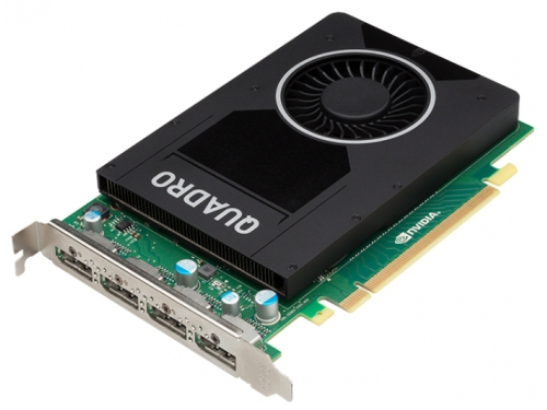 ���������� ���������������� PNY Quadro M2000 PCI-E 3.0 4096Mb 128 bit HDCP, VCQM2000BLK-1, ��� 2