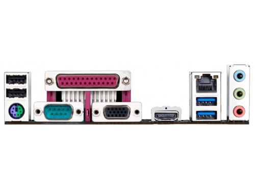 Материнская плата Gigabyte GA-N3150M-D3P (rev. 1.0) (mATX, Celeron N3150, SoC, 2xDDR3), вид 3