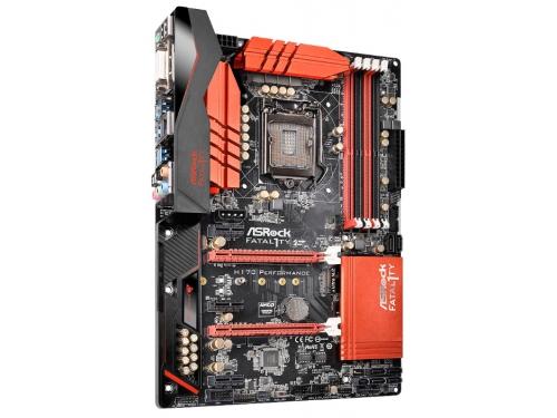 Материнская плата ASRock Fatal1ty H170 Performance (ATX, LGA1151, Intel H170, 4xDDR4), вид 3