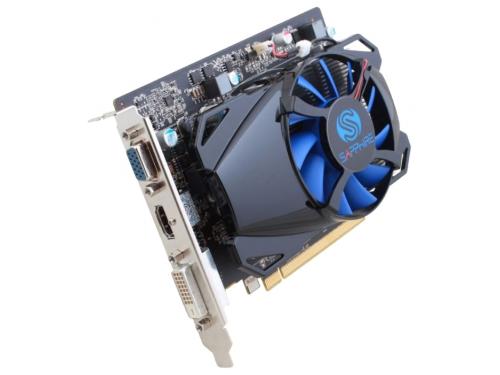 Видеокарта Radeon Sapphire PCI-E ATI R7 250 2G GDDR5 PCI-E, вид 2