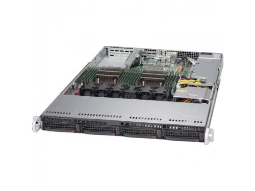 Серверная платформа SuperMicro SYS-6018R-TDW, вид 3