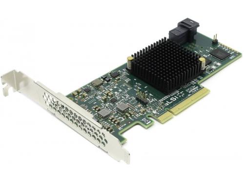 Контроллер LSI Logic SAS 9300-4i (PCI-e - SAS / SATA), вид 1