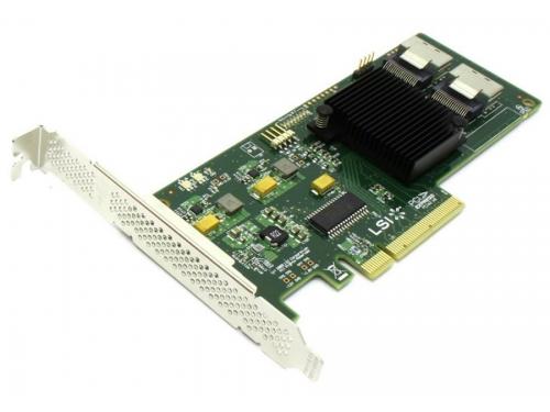 Контроллер LSI Logic SAS 9211-8i (PCI-e - SAS/SATA, RAID 0,1,1e,10), вид 1