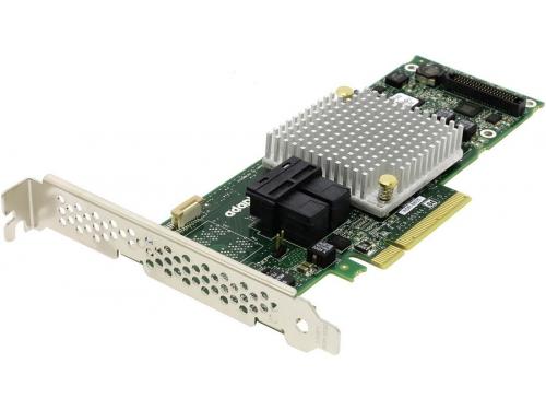 Контроллер Adaptec ASR-8805 SG (PCI-e - SAS/SATA, RAID 0-60), oem, вид 1