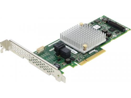 Контроллер Adaptec ASR-8405 (PCI-e - SAS/SATA, RAID 0-60), oem, вид 1