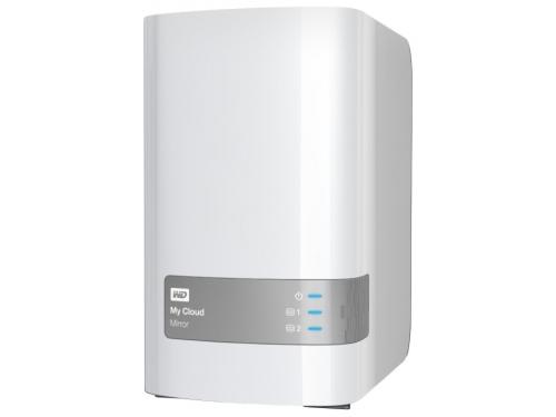������� ���������� Western Digital WDBWVZ0060JWT-EESN (6 Tb, 2xHDD, USB3.0, LAN1000), ��� 1