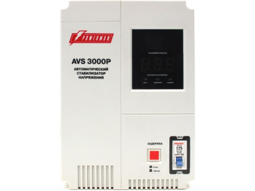 ������������ ���������� Powerman AVS 3000P (3000VA), ��� 1