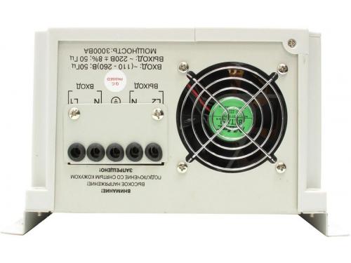 ������������ ���������� Powerman AVS 3000P (3000VA), ��� 3