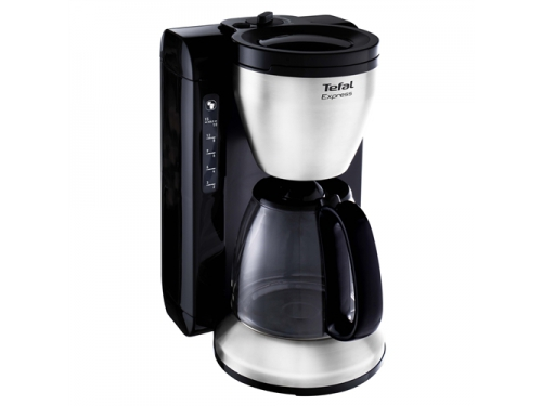 Кофеварка Tefal CM390811 Express, черная, вид 1