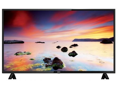 телевизор BBK 43LEX-5043/FT2C, черный, вид 1